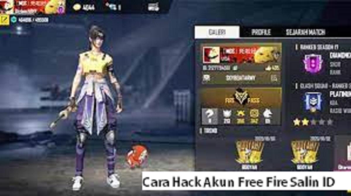 Cara Hack Akun Free Fire Salin ID