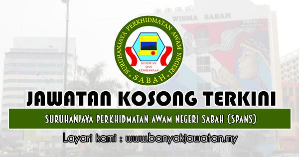 Jawatan Kosong 2019 di Suruhanjaya Perkhidmatan Awam Negeri Sabah (SPANS)