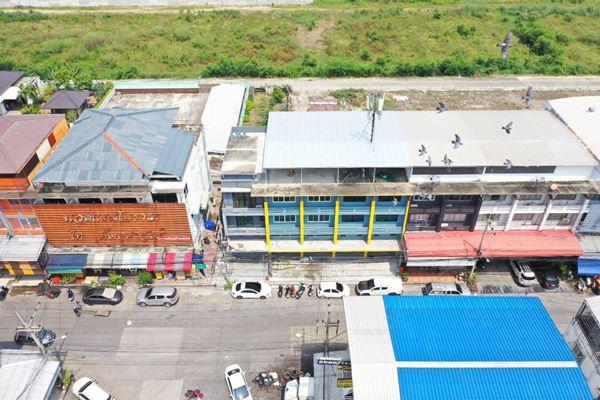 VR Global Property อาคารพาณิชย์ 4 คูหาทำเลทองตลาดไท คลองหลวง ตำบลคลองหนึ่ง อำเภอคลองหลวง ปทุมธานี
