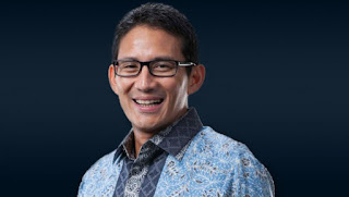 Calon wakil presiden nomor urut 02 Sandiaga Salahudin Uno