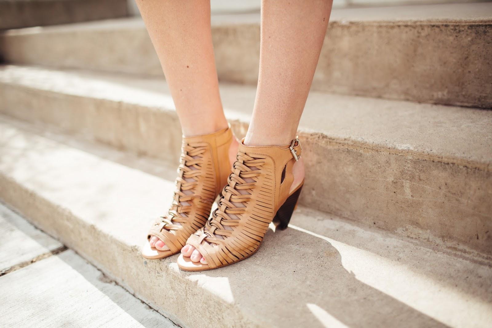 Casual Heels, Camel Heels, Spring heels