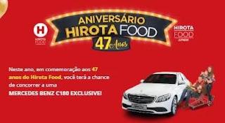 Promoção Hirota Food 47 Anos Mercedes Benz C180 Exclusive - Aniversário 2019