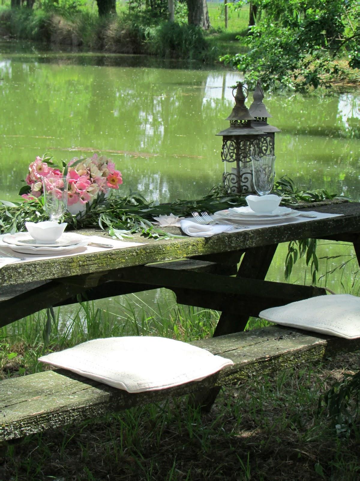 pranzo romantico sul lago