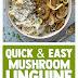 Quick & Easy Mushroom Linguine