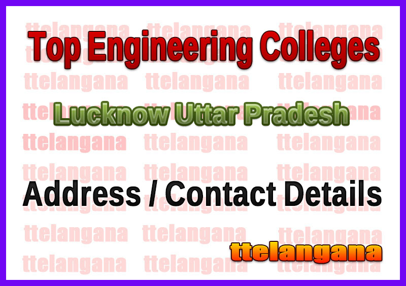 Top Engineering Colleges in Lucknow Uttar Pradesh
