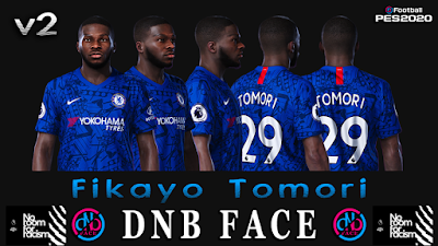 PES 2020 Faces Fikayo Tomori by DNB