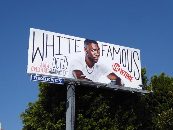 White Famous series premiere billboard