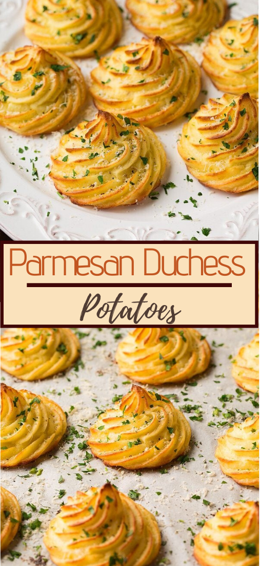 Parmesan Duchess Potatoes #food #lunchrecipe #vegan #vegetarianrecipe #easyrecipe