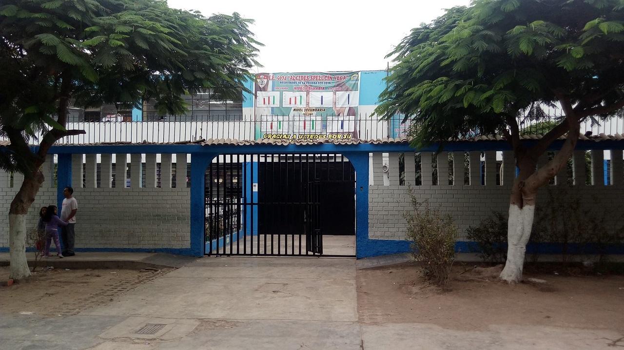 Colegio 5074 ALCIDES SPELUCIN VEGA - Callao