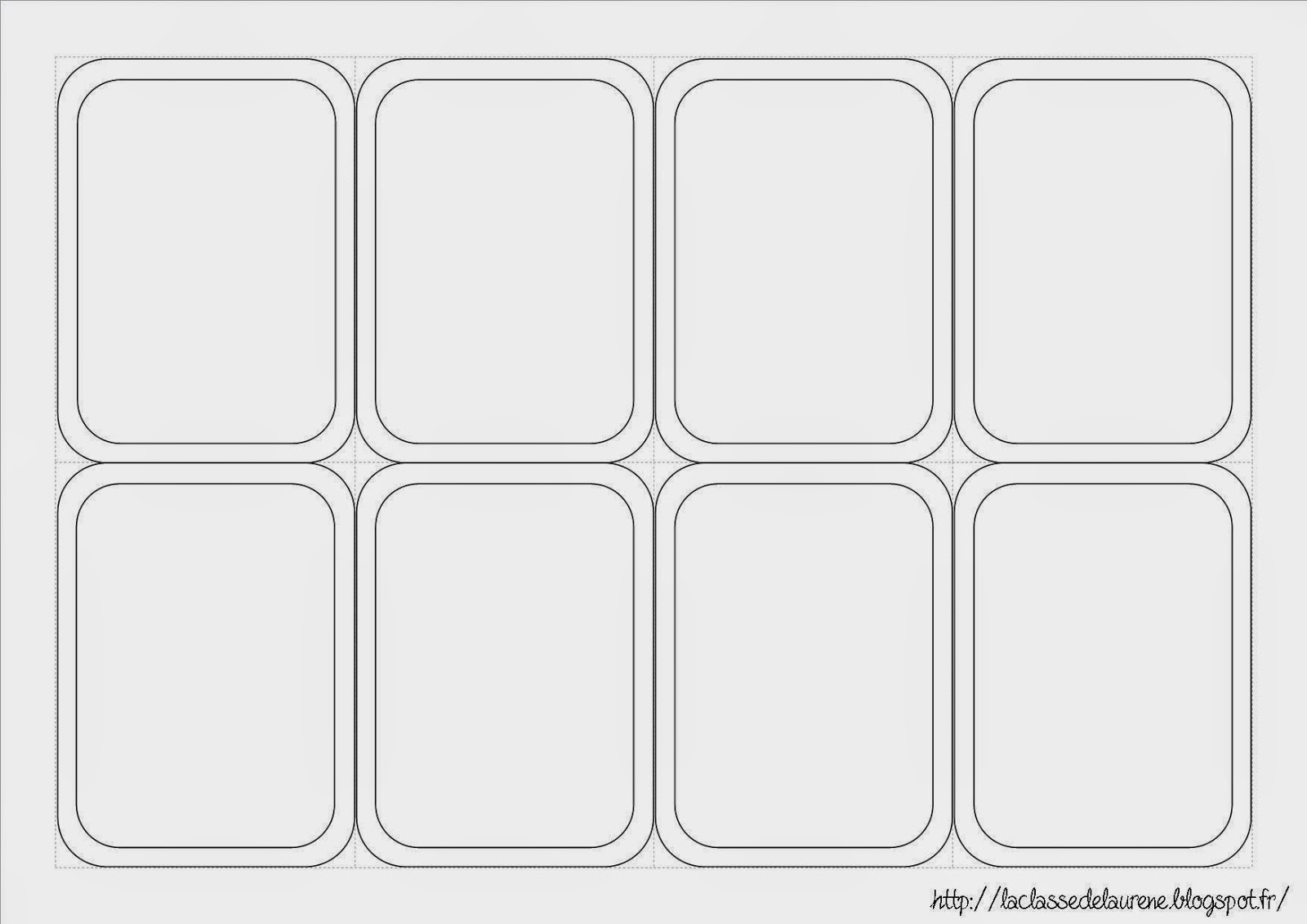 format carte à jouer format carte à jouer word