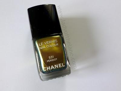 Chanel Peridot Le Vernis