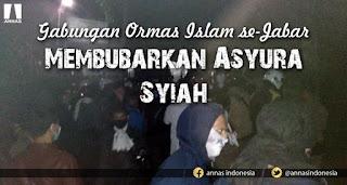 Allahu Akbar! Pembela Ahlus Sunnah Bubarkan Acara Syiah