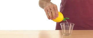 Squeeze The Lemon And Recover The Juice