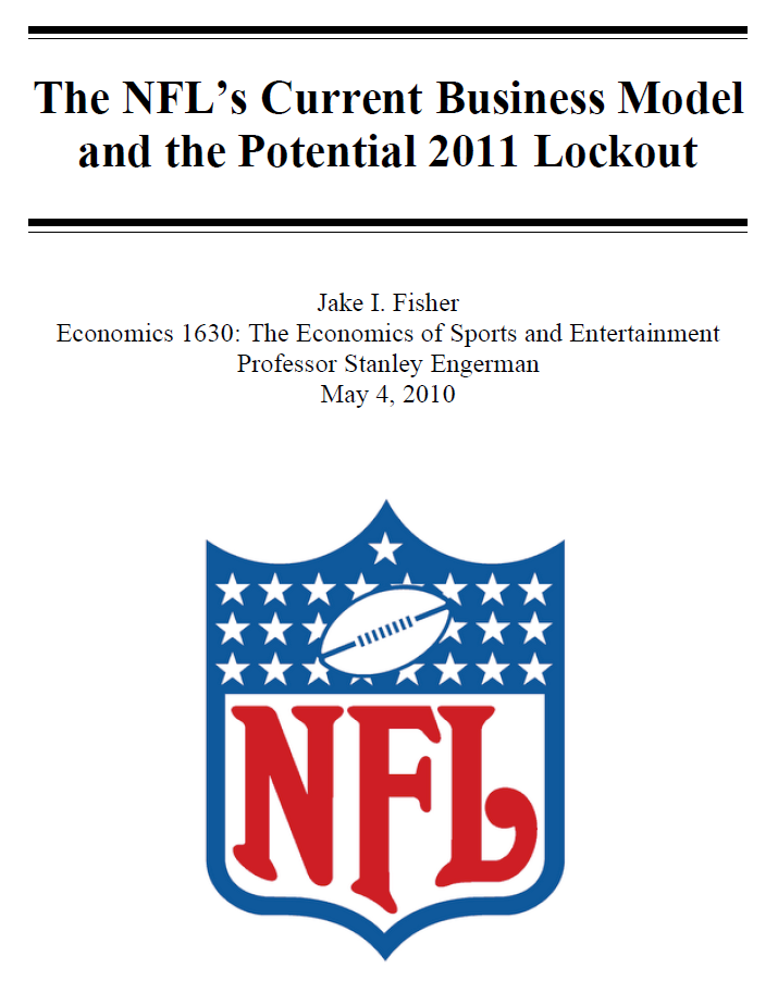 The Lucrative NFL Business Model
