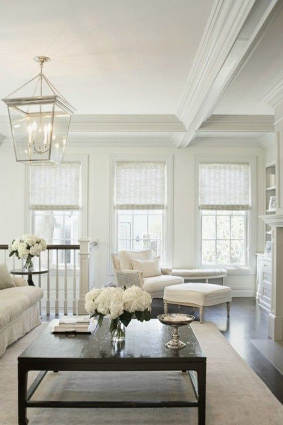 Coastal style hamptons style classic in cream for Living room definition