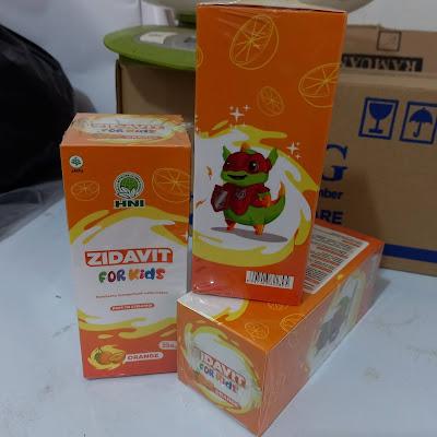 Zidavit For Kids Suplemen Otak Penambah Nafsu Makan Anak HNI HPAI