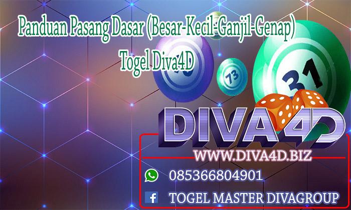 Panduan Pasang Dasar (Besar-Kecil-Ganjil-Genap) Togel Diva4D Togel Online | Situs Togel Online | Bandar Togel