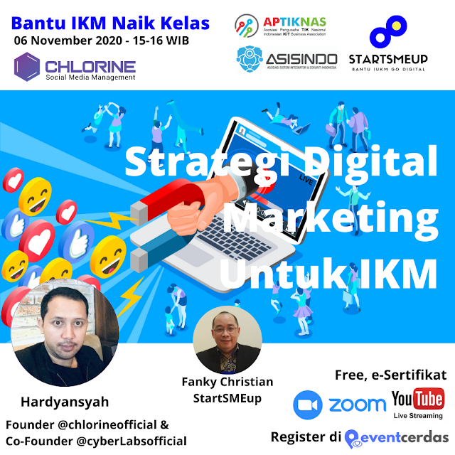Virtual Event StartSMEup - November 2020 - BANTU IKM & UKM NAIK KELAS