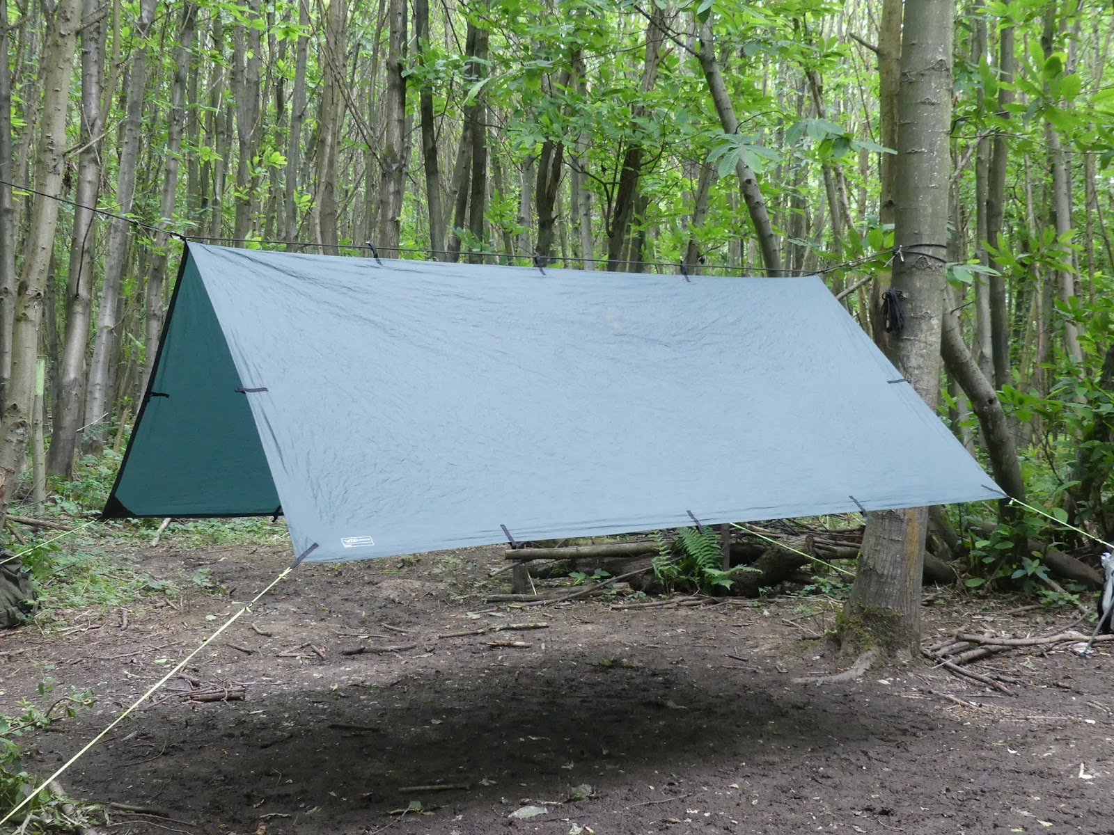 The Outdoor Traditionalist A Look At Tarp Configurations