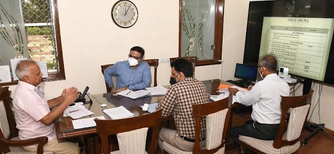 मुख्य सचिव ने लम्बित भर्तियों के संबंध में ली समीक्षा बैठक विभागों को समय पर भर्ती प्रक्रिया पूरी करने के दिये निर्देश