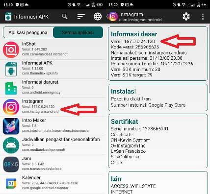 2 Cara Melihat Versi Instagram Di Android Dengan Mudah ...