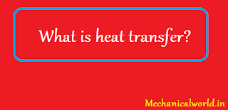 What is heat transfer? Definition, Formula