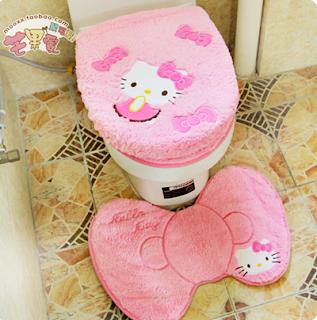 Penutup Toilet dan Karpet