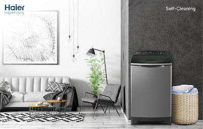 Haier ส่งเครื่องซักผ้าซีรีส์ใหม่ ชูเทคโนโลยี Self-Cleaning ที่มี Smart Ball ขจัดคราบสกปรก  สะอาดทั้งถังและผ้า แชมป์ตัวจริงเรื่องความสะอาด
