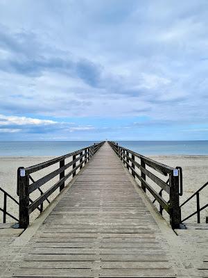Auf dem richtigen Holzweg hinaus aufs Meer. Ein paar Worte ... | Blog Silke schreibt