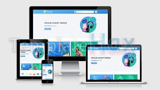 Blanter Tokoside v2.0 Premium Blogger Template