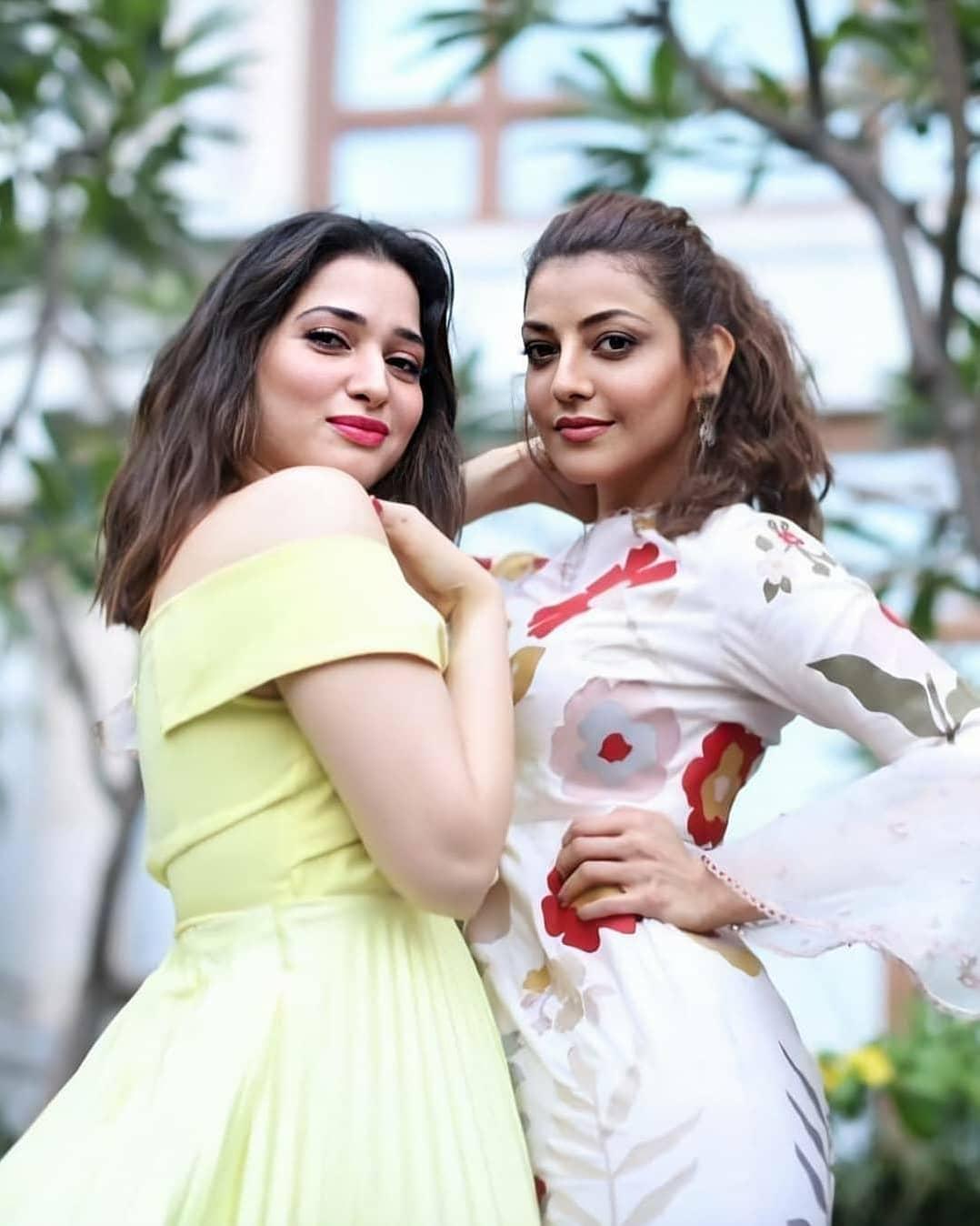 Actress Kajal Agarwal & Tamanna Latest Photos