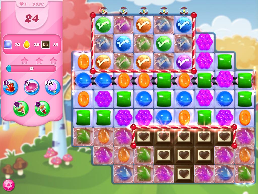 Candy Crush Saga level 3923