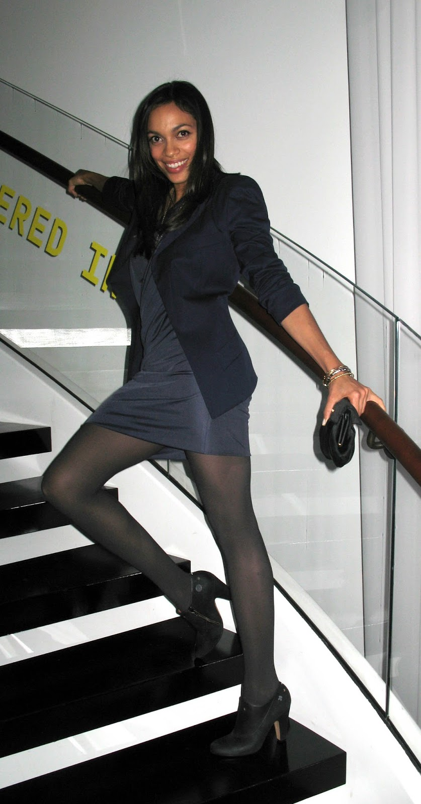 Cuban Heel Pantyhose These