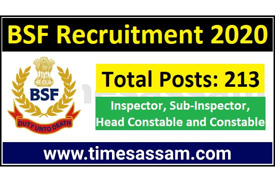 BSF Job 2020