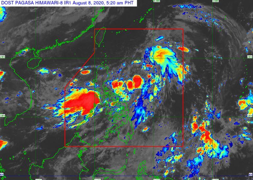 'Bagyong Enteng' PAGASA weather update August 8, 2020