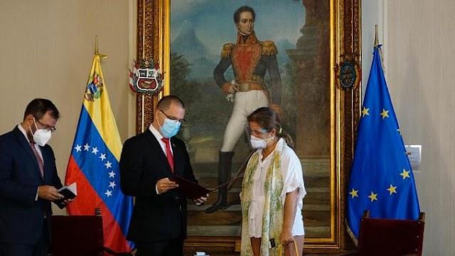 Venezuela declara a la embajadora de la UE como persona no grata