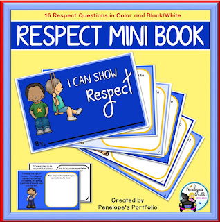 I Can Show Respect Social Skills Mini Book