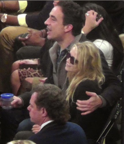 Mary-Kate Olsen and her Olivier Sarkozy