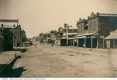 View of Main Street Kapunda c 1900