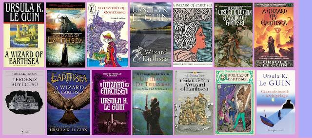 Portadas de la novela de fantasía juvenil Un mago de Terramar
