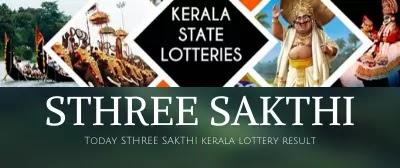 Kerala Lottery Result Sthree Sakthi