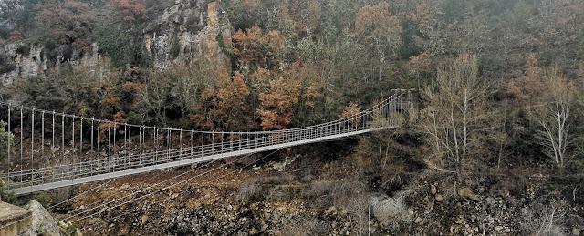puente colgante congost de mont-rebei