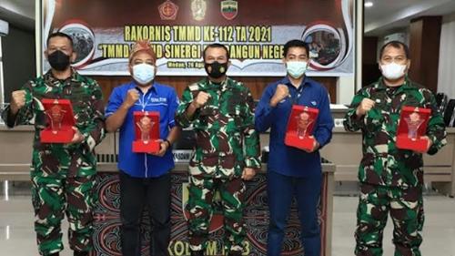 Kodam I/BB Raih 4 Kategori Juara Lomba Karya Jurnalistik TMMD Ke-111 Tahun 2021