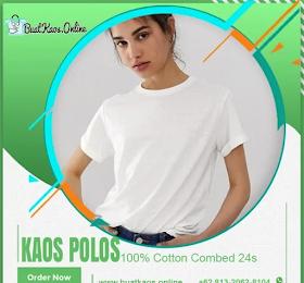 Jual Kaos Polos Putih Buat Tie Dye Online WA-081320628104 <price>Rp.31.000</price> <code>#Combedputih24s</code>