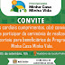 Convite para o sorteio eletrônico das unidades habitacionais do Residencial Vila Bela em Belo Jardim, PE