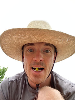 Man with Ground Cherry