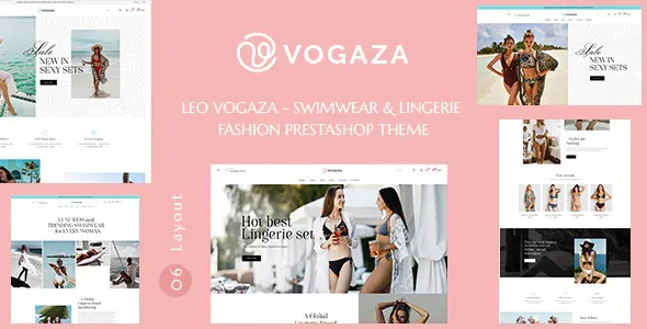 Best Swimwear and Lingerie Fashion Prestashop Theme