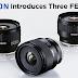 Tamron Unveils Trio of Wide 1:2 Primes for Sony E