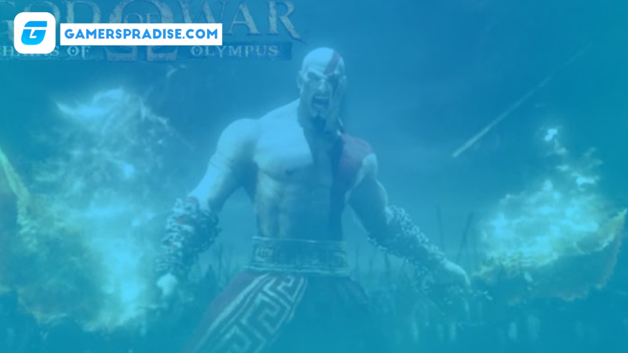 God of War - Chains of Olympus psp iso (87mb)
