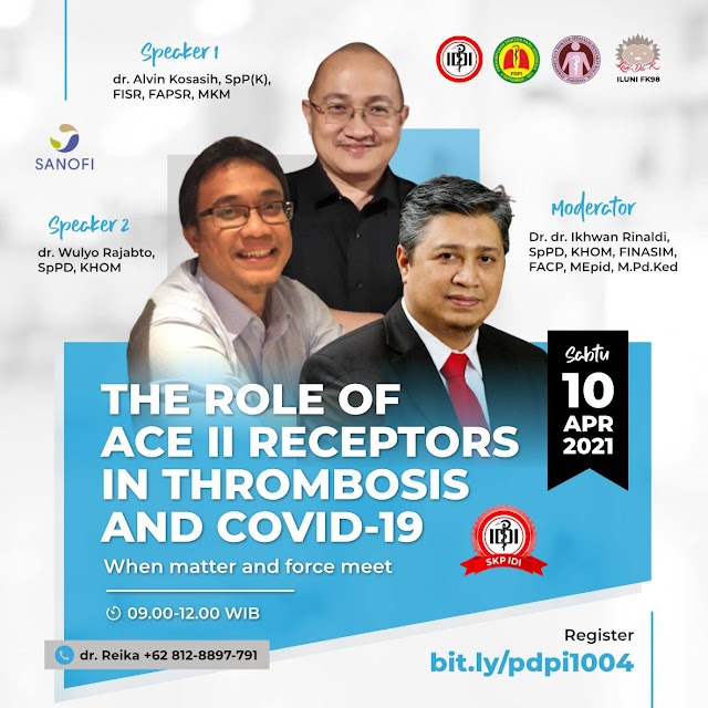 (FREE SKP IDI) Webinar    The Role of ACE II Receptors in Thrombosis and Covid-19